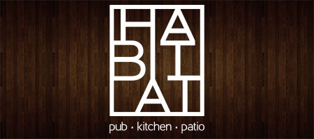 link through to habitat pub, kitchen, patio